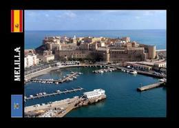 Melilla City Port New Postcard - Melilla