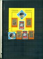 GHANA  NOEL 74 4 VAL+ BF NEUFS A PARTIR DE 0.60 EUROS - Ghana (1957-...)
