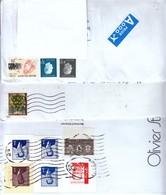 5 Briefe Aus Belgien / 5 Covers From Belgium - Briefe U. Dokumente