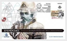 Spanje / Spain - Postfris / MNH - FDC Herman Cortez 2019 - 1931-Tegenwoordig: 2de Rep. - ...Juan Carlos I