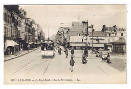 LE HAVRE  LE ROND POINT ET RUE DE NORMANDIE - Le Havre