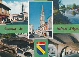 POSTAL B8138: VALENCE D AGEN: GARONNE - Postales