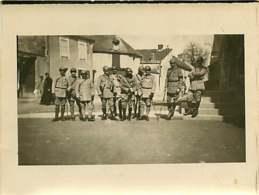 160519A - PHOTO GUERRE 1914 18 MILITARIA - AISNE Officiers Soldats Religieux - Guerra 1914-18
