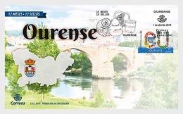 Spanje / Spain - Postfris / MNH - FDC 12 Maanden, 12 Postzegels, Ourense 2019 - 1931-Tegenwoordig: 2de Rep. - ...Juan Carlos I