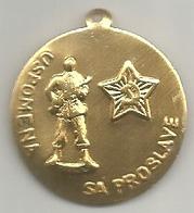 Yugoslavia, 1975, Uspomena Sa Proslave (anniversario Guerra Contro Il Fascismo), Mist., Cm. 2,7 - Gettoni E Medaglie