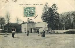 VOSGES LIFFOL LE GRAND   Café De La Gare - Liffol Le Grand