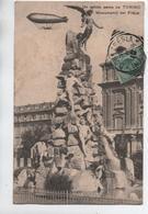 UN SALUTO AEREO DA TORINO - MONUMENT DEL FREJUS - ZEPPELIN - Italia