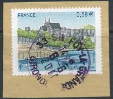 France - Angers YT 4543 Obl. Cachet Rond Sur Fragment - Oblitérés