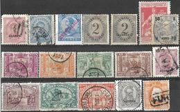 9Ab-931: Restje  17 Zegels: ... Diverse ... Verder Uit Te Zoeken.. - Açores