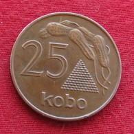 Nigéria 25 Kobo 1991 KM# 11a - Nigeria