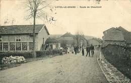 VOSGES LIFFOL LE GRAND   Route De Chaumont - Liffol Le Grand