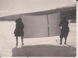 SKI-SAILING WARE NORTHERN SWEDEN STOCKHOLM WINTER SPORT 12 * 9 CM Fonds Victor FORBIN 1864-1947 - Deportes