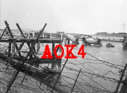 ZEEBRUGGE Brugge Raid Mole 1918 HMS Intrepid Iphigenia Thetis Flandern Zeebruges - Guerra, Militari