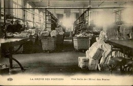 FRANCE - Carte Postale - Grèves Des Postiers - Une Salle De L 'hôtel Des Postes -  L 29577 - Grèves