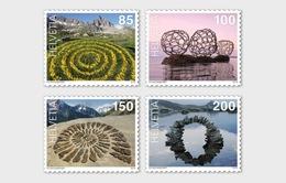 Zwitserland / Suisse - Postfris / MNH - Complete Set Landkunst 2019 - Zwitserland