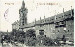 Königsberg In Preußen - Kaliningrad - Калининград - Schloss Und Schloss-promenade - Stempel Lazaret 1915 - Ostpreussen