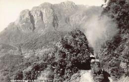 Brazil - O Cadeado E. Ferrovia Parana - Paranagua A Curityba - REAL PHOTO - Brésil