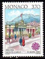 YT 1725 Neuf Batiments Postaux D'hier Lot 600 - Monaco