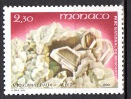 YT 1731 Neuf Microminéraux Du Parc Du Mercantour Lot 602 - Monaco