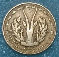 Western Africa (BCEAO) 5 Francs, 1972 -4228 - Coins