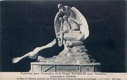 Cpa Concours Pour L'exécution De La Coupe MICHELIN Pour L' Aviation - Louis Albert CARVIN - Aviation