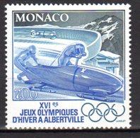 YT 1811 Neuf Jeux Olympiques D'hiver à Alberville Bobsleigh à Deux Et Piste Lot 665 - Nuovi