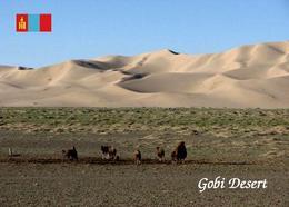 Mongolia Gobi Desert New Postcard Mongolei AK - Mongolei
