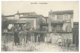Cpa Ardèche - Salymes - La Croisette - Francia