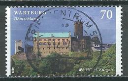 Allemagne YT N°3095 Europa 2017 Chateau De Wartburg Oblitéré ° - 2017