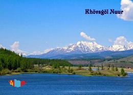 Mongolia Lake Khövsgöl New Postcard Mongolei AK - Mongolei