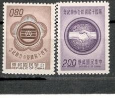TAIWAN1962:Michel 462-3mnh** - 1945-... Republiek China