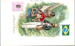 TIMBRES --  La Poste Au BRESIL - Stamps (pictures)