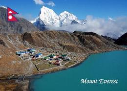 Nepal Himalayas Mount Everest Gokyo Ri Aerial View New Postcard - Nepal