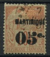 Martinique (1888) N 14 (o) - Martinique (1886-1947)