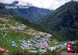 Nepal Namche Bazaar Aerial View New Postcard - Nepal