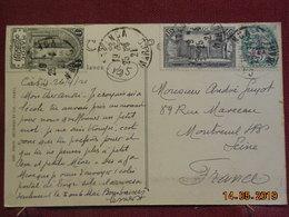Carte De 1921 à Destination De Montreuil Sous Bois - Maroc (1891-1956)