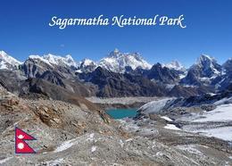 Nepal Sagarmatha National Park UNESCO New Postcard - Nepal