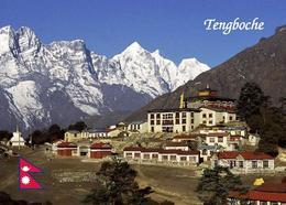 Nepal Himalayas Mount Everest Tengboche Monastery New Postcard - Népal