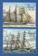 Älandinseln  2019 Mi.Nr. 466 / 467 , Segelschiffe / Vineta + Parma - Postfrisch / MNH / (**) - Ålandinseln