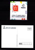 F 2019 / Neuf** Paris' écrit, Adhésif, Lettre Verte, Hors Programme, Timbre + Carte Postale - France