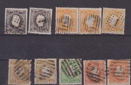 PORTUGAL : 9 EX . OBL . B à TB . 1867/70 . - Oblitérés