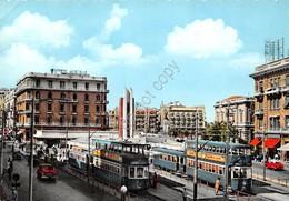 Cartolina Alexandria Egypt Saad Zaghloul Square Ramleh Station - Cartoline