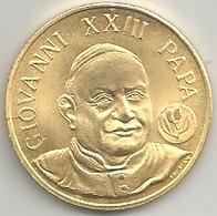 Vaticano, Papa Giovanni XXIII, Mistura Dorata Gr. 8, Cm. 2,8. - Gettoni E Medaglie