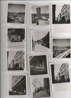 11 PHOTO (9= 6x6 Cm,2=8.5x6 Cm) MARSEILLE (13) COUPLE ANCIENNE VOITURE,RUE LE COQ,MAISON LE CORBUSIER,MAI 1955 - Photographs