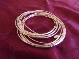 Bracelet Multiple ( 15 ) En Métal Doré - Armbanden