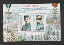 "FRANCE / 2019 / Y&T N° 5311/5312 ** En BF Ou F5311 ** : Bloc ""France-Pologne"" - Gomme D'origine Intacte - Sheetlets"