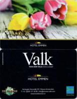 Van Der Valk Emmen Tulips-033----key Card, Room Key, Schlusselkarte, Hotelkarte - Cartas De Hotels