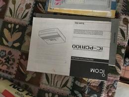 ICOM PCR 100 ISTRUZIONI - Books, Magazines, Comics