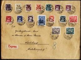 A5860) Czechoslovakia Grosser Express-Brief Karlovy Vary 12.09.21 - Briefe U. Dokumente
