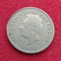 El Salvador 5 Centavos 1952 KM# 134a - El Salvador